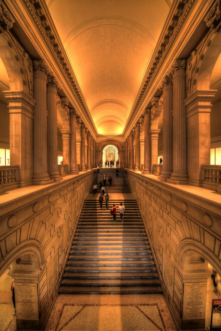 199 best museum metropolitan museum of art nyc images on for Grand staircase design