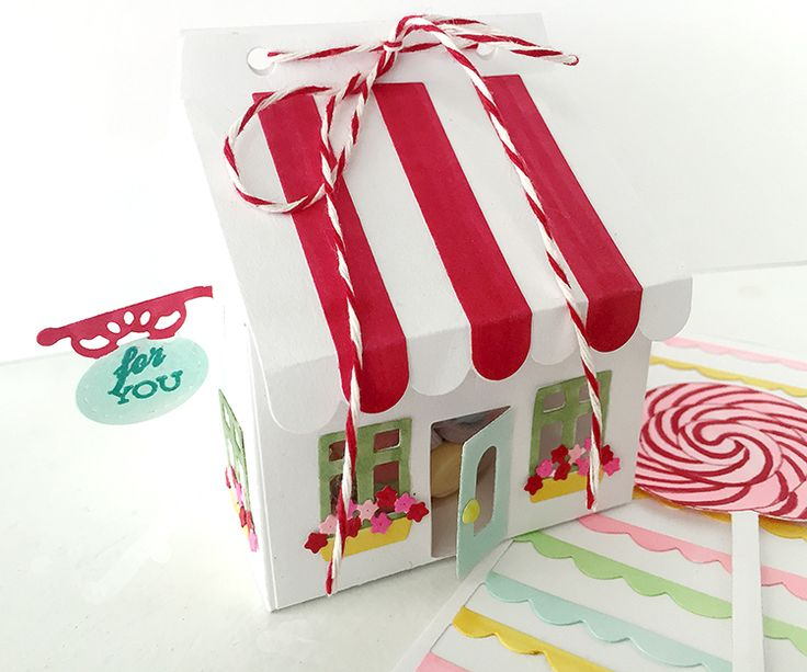 523 best pti gift packaging images on pinterest gift boxes gift candy shoppe treat box by danielle flanders for papertrey ink july 2016 negle Images