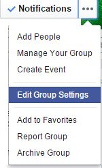 When you create a Facebook page, you get a lengthy, ugly URL having numbers. Here are the steps: How to Create a Custom URL for Facebook Group