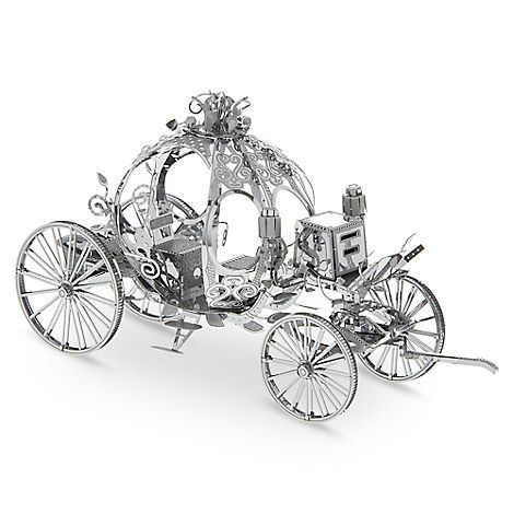 Cinderella Carriage Metal Earth 3D Model Kit
