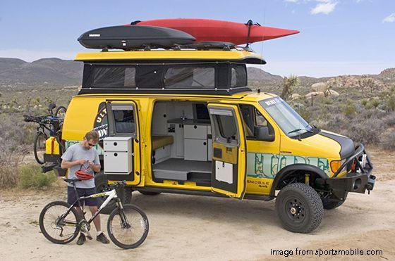 11 best Sportsmobiles images on Pinterest | 4x4 camper van, Caravan ...