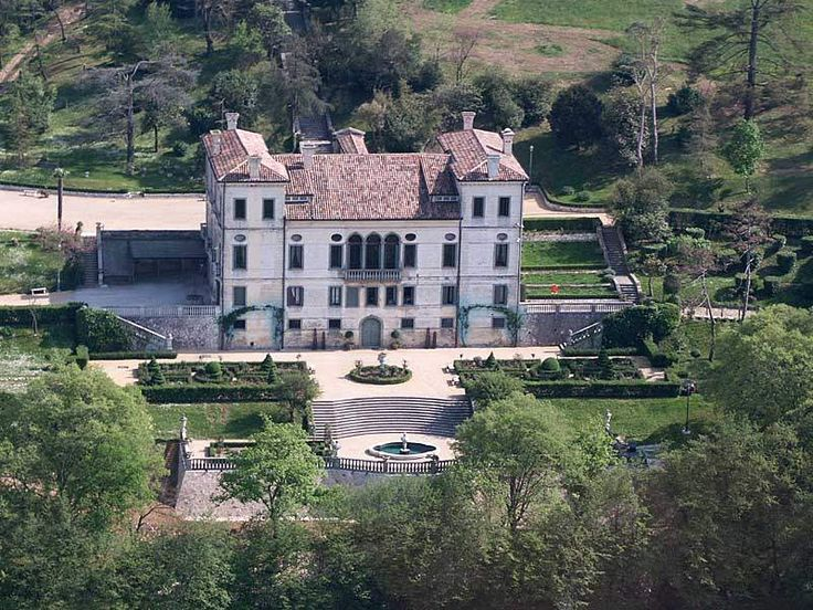 Italian Villas: Villa Montesi, Colli Euganei - Padova, Italy