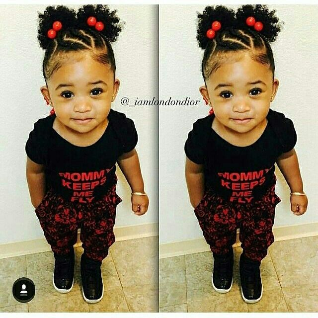 Peachy 1000 Ideas About Black Baby Hairstyles On Pinterest Baby Girl Short Hairstyles Gunalazisus