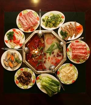 We discovered hot pot in California on our vacation.  Bought one and LOVE it.  Family dinners are delightful around a simmering hot pot of wonderful broths.  Lots of laughter.