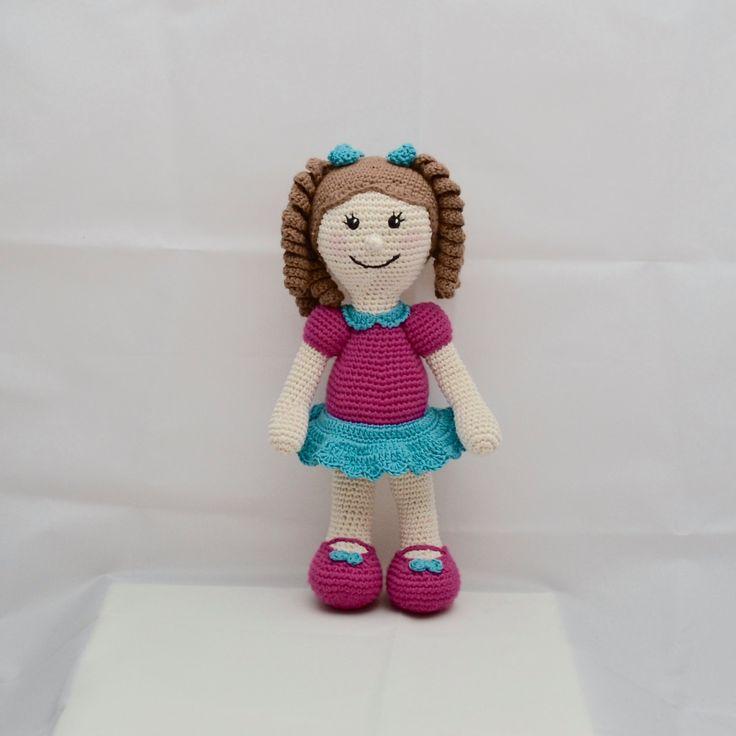 Crochet Doll, Amigurumi, Soft Toy, Uk seller by WishWantDesire on Etsy