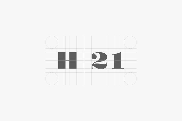 Brandcetera | Nicola Di Tullio / Italy Identity for Hotel 21