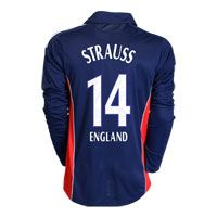 Adidas ECB Official 2008 adidas England Cricket One Day ECB Official 2008 adidas England Cricket One Day International Shirt with Strauss 14 printing - Long Sleeved. http://www.comparestoreprices.co.uk/cricket-equipment/adidas-ecb-official-2008-adidas-england-cricket-one-day.asp