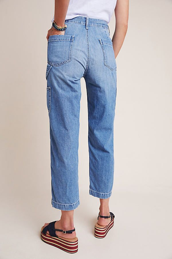 Edwin Bailee Ultra High Rise Relaxed Carpenter Jeans In 2020