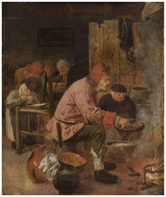Le Crêpier - Adriaen Brouwer - vers 1625