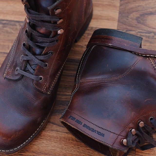 Still have plenty of miles left in these Wolverine 1000 Mile Boots.