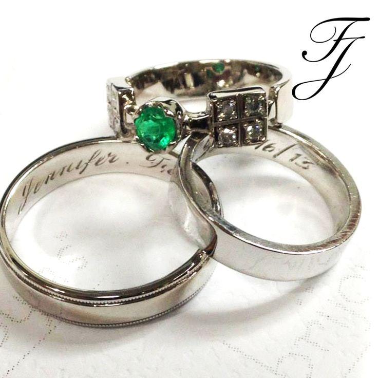Una combinación única: Como novia puedes elegir una argolla que no coincida exactamente con tu anillo de compromiso. Esto crea un aspecto único, que está teniendo mucha acogida. 👰🏽🎇💍 #ArgollasDeMatrimonioCali #AnillosDeCompromisoCali #JoyeriaNoviasCali