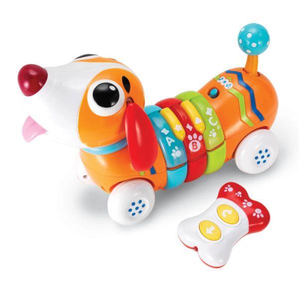 Kolorowy PIESEK BUREK Hau Hau to wesoły piesek gotowy na długie zabawy z Twoim dzieckiem.