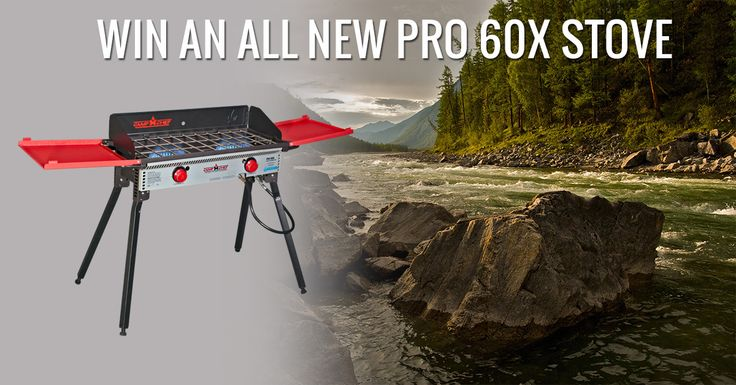 Outdoor Cooking - Win a Camp Chef Pro 60X Two-Burner Stove - http://sweepstakesden.com/outdoor-cooking-win-a-camp-chef-pro-60x-two-burner-stove/