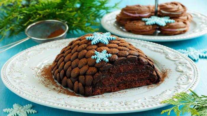 "Новогодний торт ""Еловая шишка"""