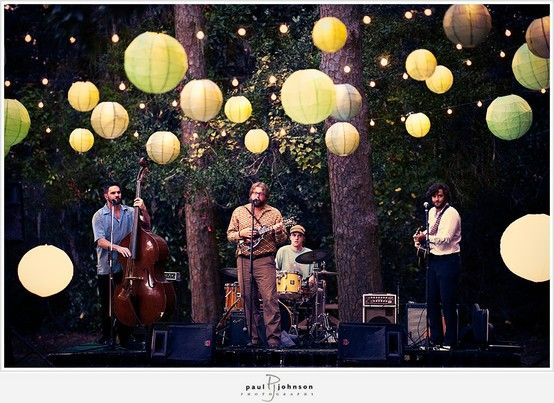 farm inspiration   lanterns over the band   i love farm weddings