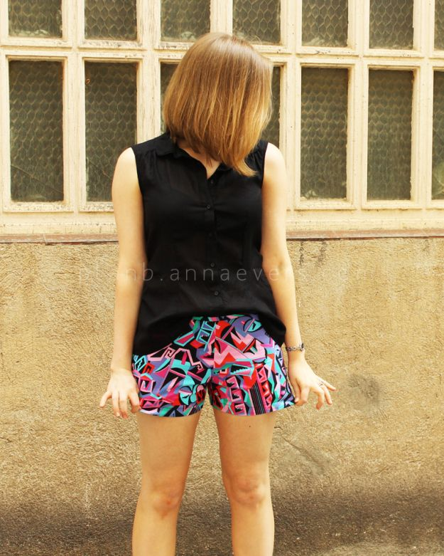 diy summer shorts free sewing pattern these are a staple