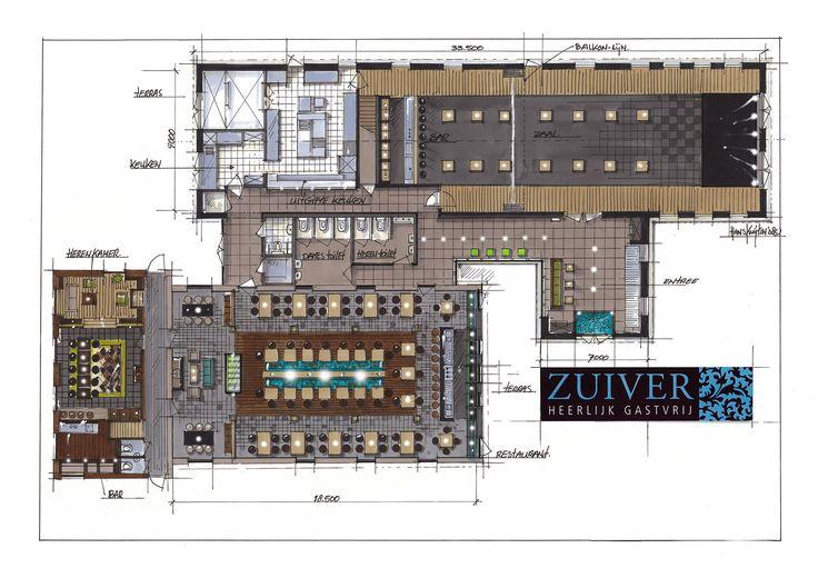 Restaurant Zuiver - Utrecht by  Hans Kuijten » Projecten