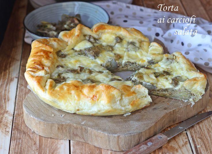 Torta ai carciofi salata | le ricette di tina | Bloglovin'