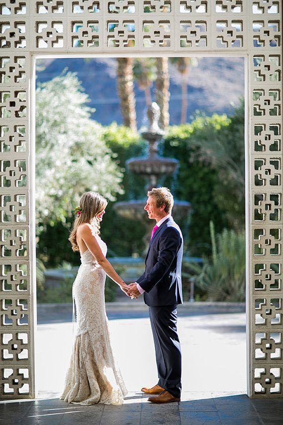 small intimate weddings southern california%0A The Parker Palm Springs wedding  JP   Chance