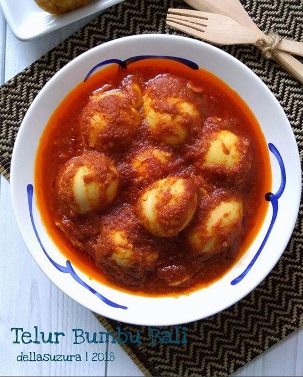Kumpulan Resep Masakan Nusantara Resep Cara Membuat Sambal Telur Bumbu Bali Telur Bumbu Telur Resep Masakan