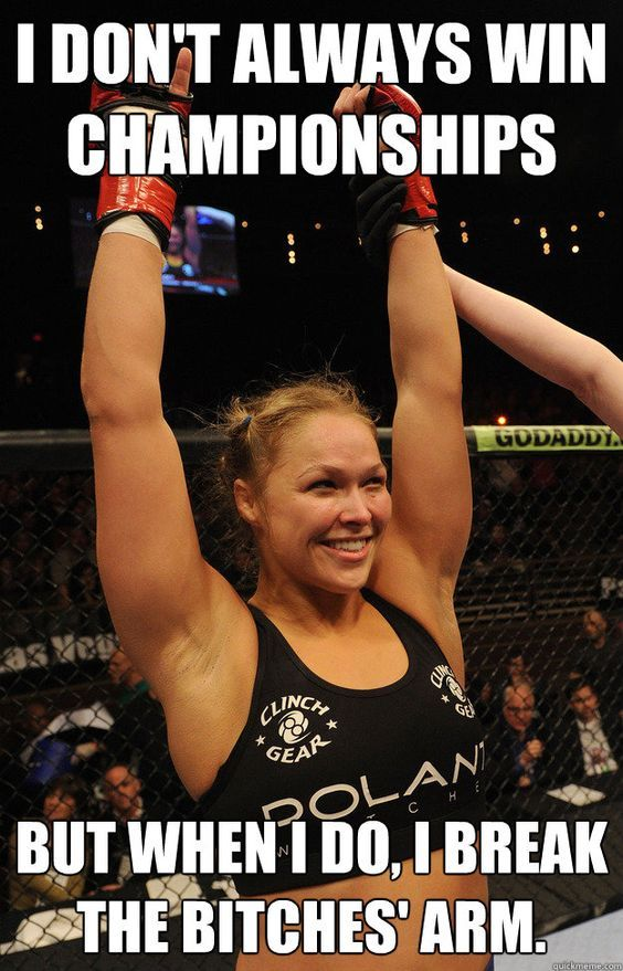 Funny Ronda Rousey Memes (19 Pics)   Funny All The Time: