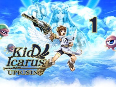Kid Icarus Uprising Gameplay Walkthrough - Part 1 [Chapter 1] Return of Palutena 3DS (Gameplay / Commentary) http://www.youtube.com/watch?v=FIxxaaS7m2w Kid I...