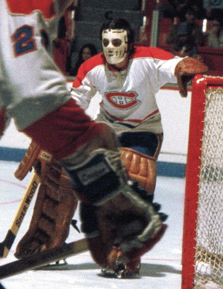 Rogie Vachon Montreal Canadiens