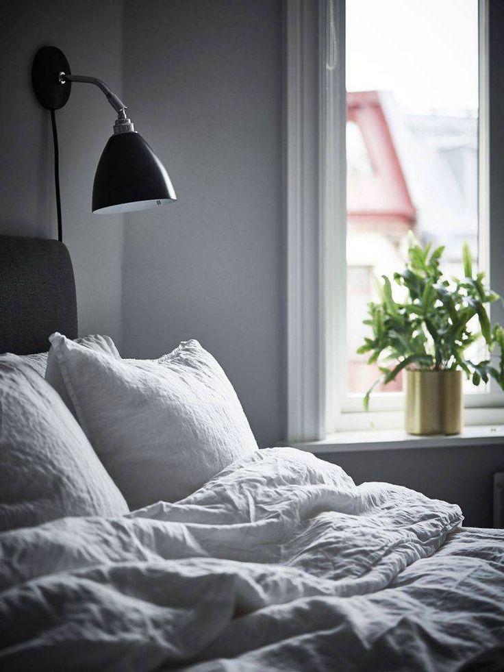 Уютная шведская квартира, выполнена в свойственном скандинавам монохромном северном стиле