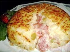 Batata Rosti ou batata suíça é uma delícia. Essa sem dúvida está entre as melhores, tem recheios maravilhosos e é bem cremosa! Fantástica Ingredientes 2 ba