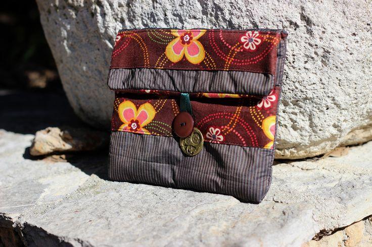 Pochette housse molletonnée Rétro Steampunk pour Téléphone portable Smartphone étui téléphone papier : Etuis portables par roseberry-couture