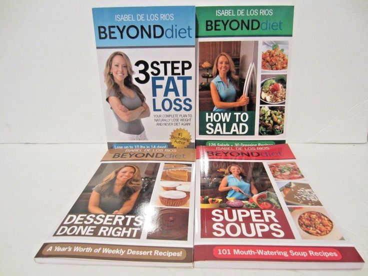 Beyond Diet 3 Step Fat Loss Complete Weight Loss Book Set Isabel De Los Rios