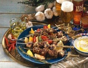 Sis Kebab (Würzige Fleischspieße) Rezept                              …