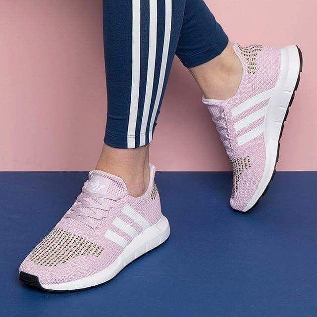 adidas Swift Run Shoes Pink Stylish Sneakers