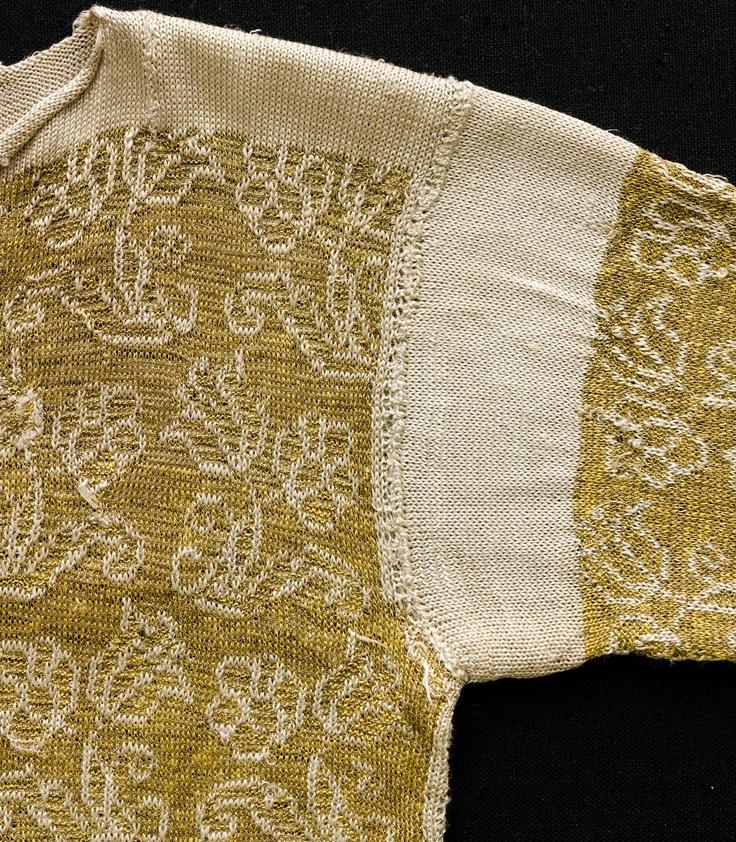 Nordiska museet - Den stickade tröjan från 1600-talet / Knitted jacket from 17th century in Nordiska Museet