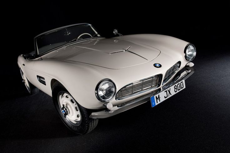 The BMW 507 owned by Elvis Presley has been fully restored