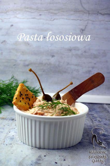 Kulinarne przygody Gatity - przepisy pełne smaku: Pasta łososiowa z kaparami
