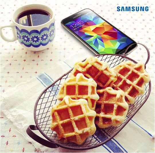 Delicios & SMART. #GalaxyS5
