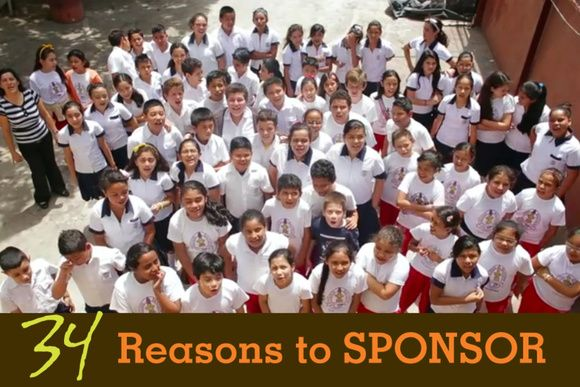 34 reasons to become a sponsor. Need we say more?! Enroll today at www.edudeo.com/sponsorship