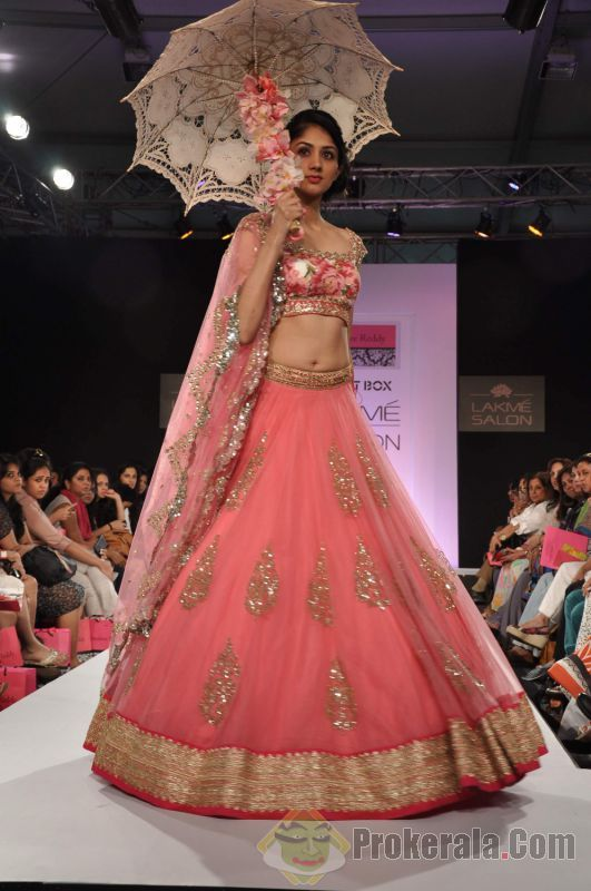 Gorgeous Lehenga by Anushree Reddy @ Lakme Fashion Week http://thesplurge.net/