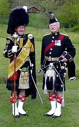Scotland, military uniform