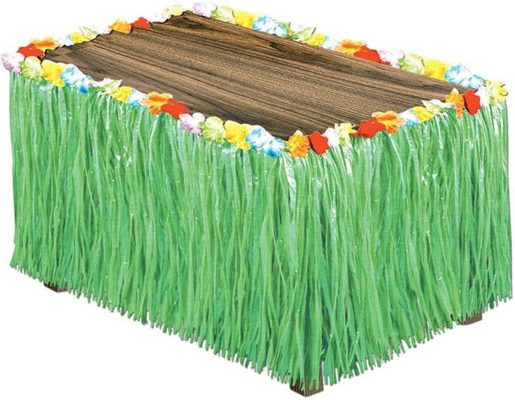 Artificial Grass Table Skirting - Green - 6 Units