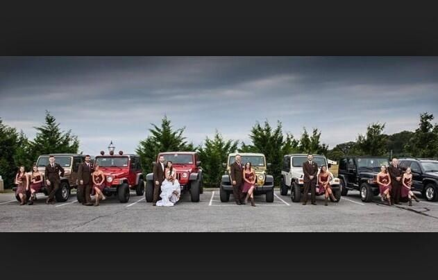 This is what my wedding party will look like. #country #jeeps #wedding