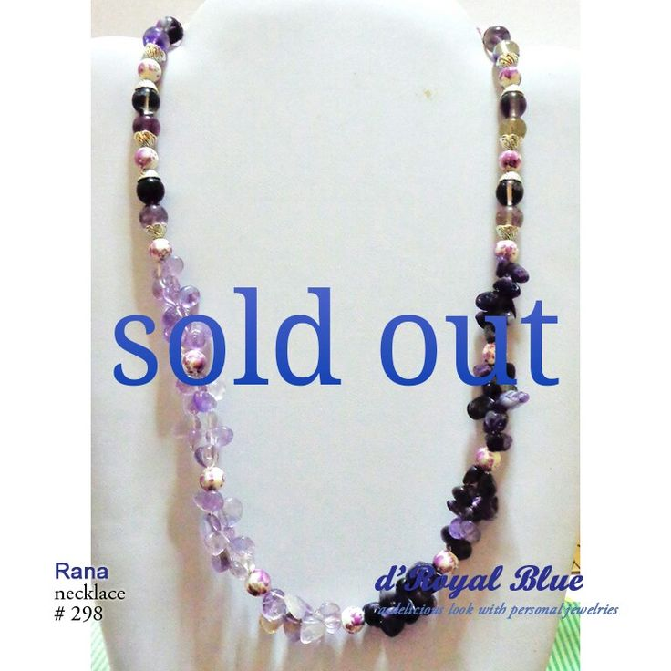 #kalung #necklace #purple #jewelry #accessory #handmade