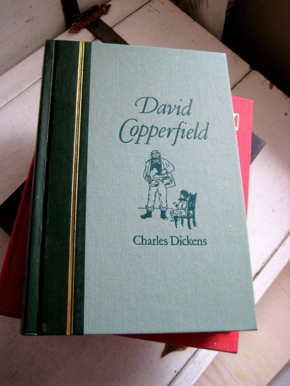 David Copperfield by Charles Dickens, 1986, Reader's Digest edition, Pleasantville, New York, Montreal https://www.etsy.com/ca/shop/jensdreamdecor?ref=teams_post