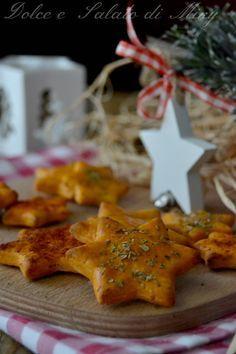 ricetta Stelle di Natale saporite| Dolce e Salato di Miky