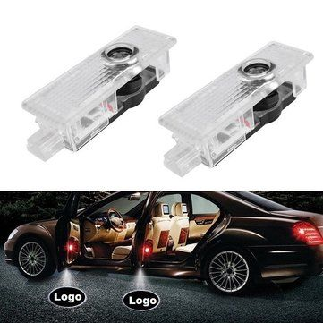 Only US$6.99, buy best Pair 5W LED Door Welcome Emblems Light With Car Logo for BMW Special sale online store at wholesale price.US/EU warehouse.