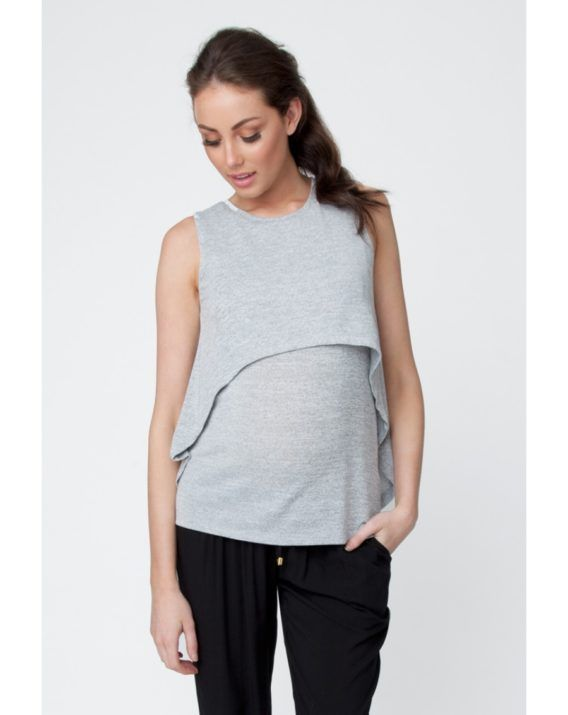 Swing Back Nursing Tank - Blossom & Glow.  $74.00. You asked for a maternity friendly overlay top, so we are super excited to bring you the Swing Back Nursing Tank!  You'll love the nursing access, swing back and super soft fabric! This gorgeous top will take you from pregnancy, breastfeeding, and beyond!
