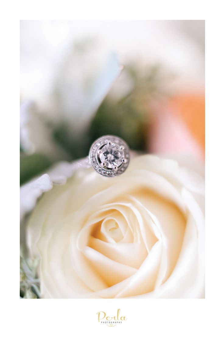 diamond engagement ring. Mornington Peninsula Wedding
