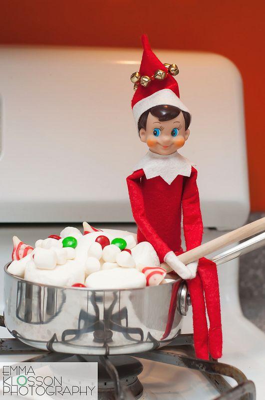 Elf on the Shelf Ideas | Jingle cooks up a batch of elf stew