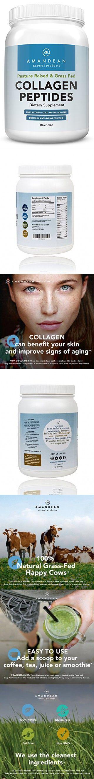 Premium Grass Fed Collagen Peptides Powder (17.6oz